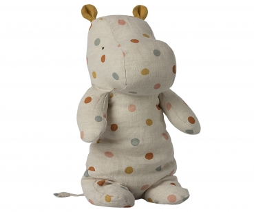 Maileg Safari Friends, Hippo - Multi Dot Medium
