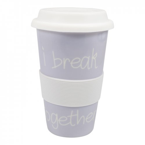Mea-Living Coffee to Go 400 ml Becher I break together