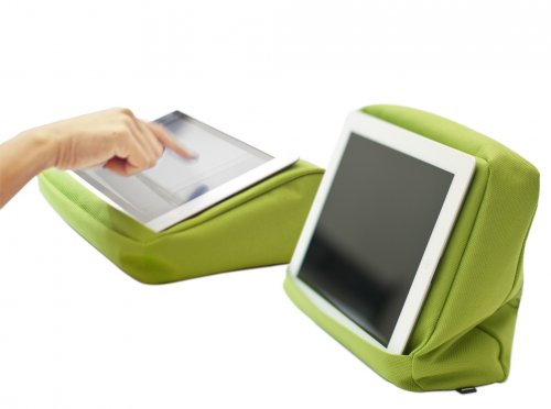 Bosign Tabletpillow Hitech 2 für iPad / Tablet-PC  lime /schwarz