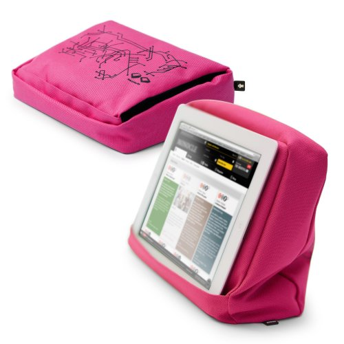 Bosign Tabletpillow Hitech 2 für iPad / Tablet-PC  pink /schwarz