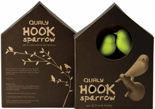 QUALY Hook Sparrow Verpackung
